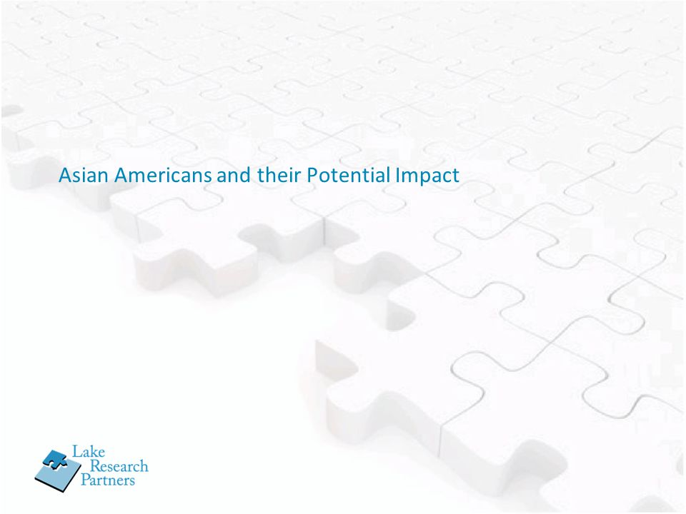 Asian Americans and their Potential Impact