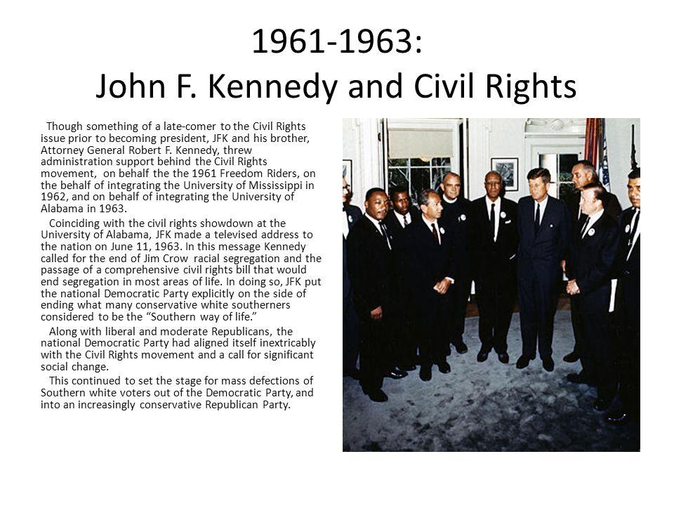 1961-1963: John F.