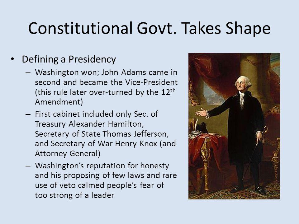 Constitutional Govt.