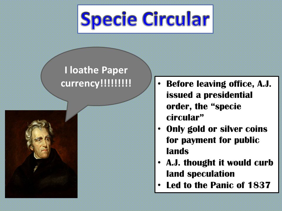 What did Van Buren inherit .