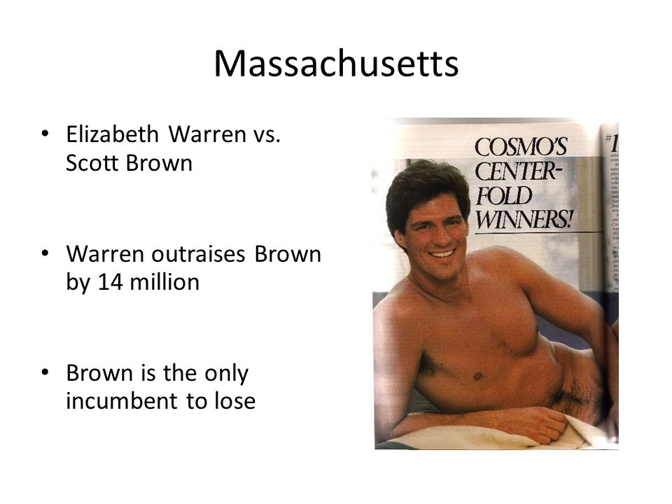 Massachusetts Elizabeth Warren vs.