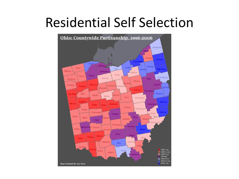 Residential Self Selection