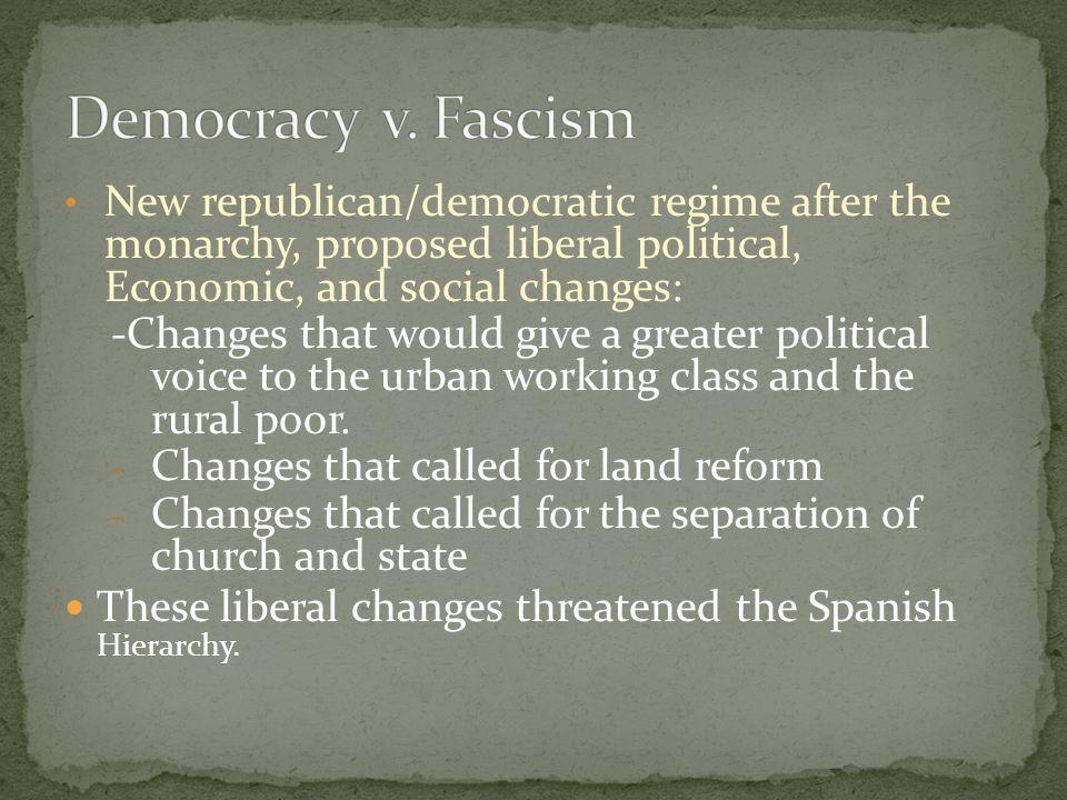 Premier Francisco Largo CaballeroGeneral Francisco Franco