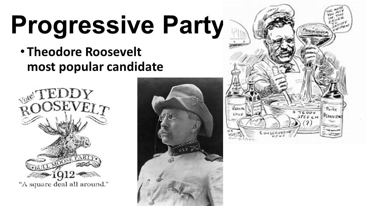 Closing Task Examine the populist and progressive parties.
