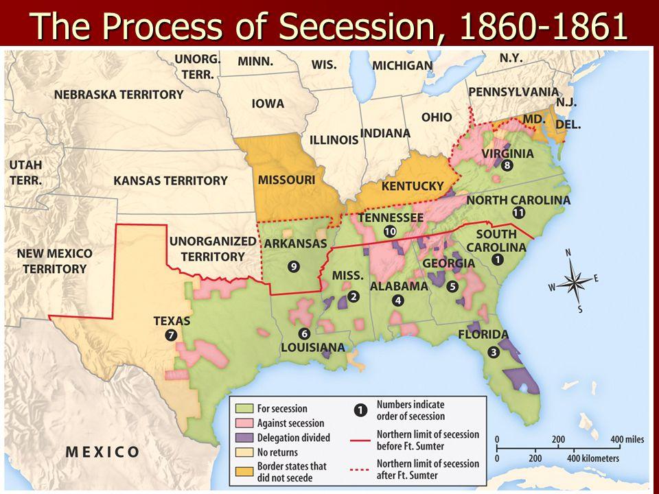 The Process of Secession, 1860-1861