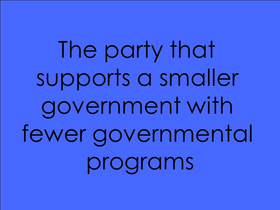 What is the Republican Party?