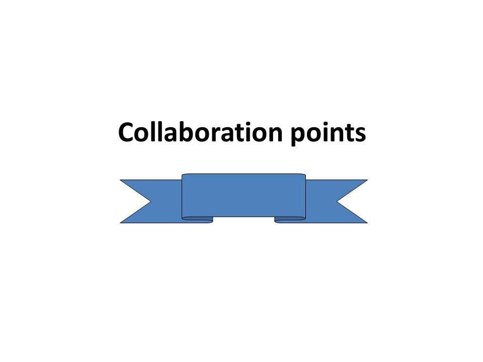 Collaboration points