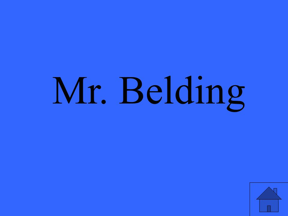 Mr. Belding