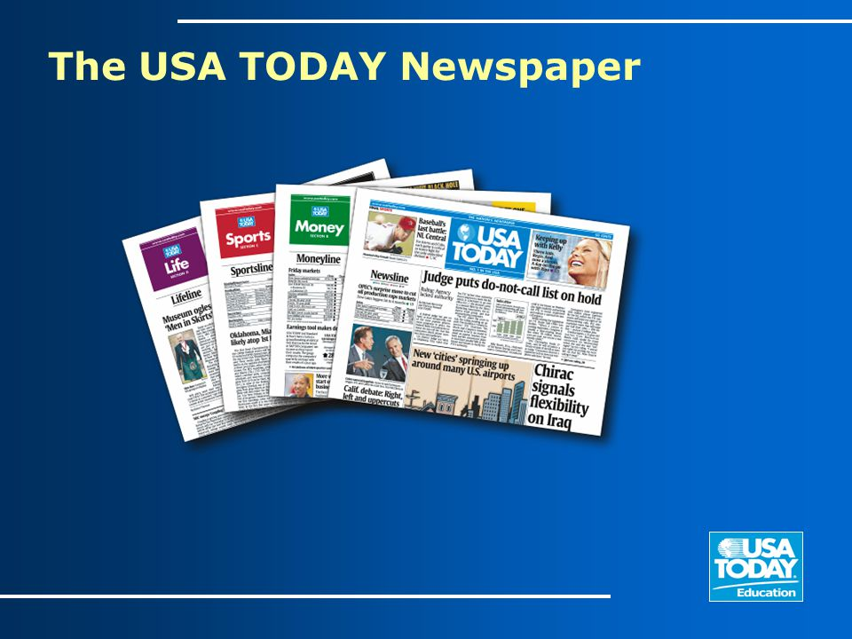 The USA TODAY Newspaper