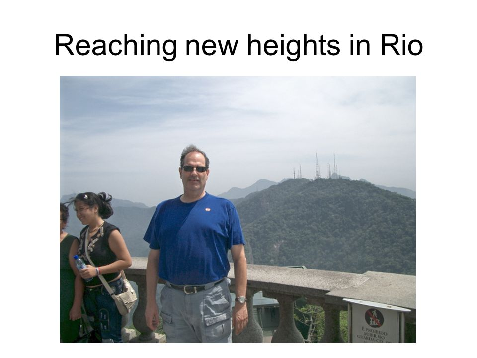 Reaching new heights in Rio