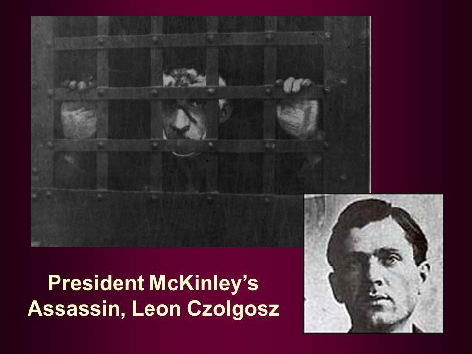 President McKinley's Assassin, Leon Czolgosz
