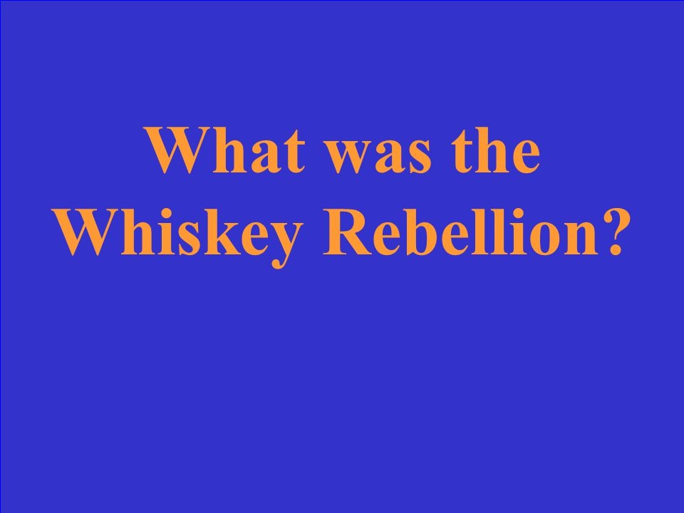 Most of the rebels fled before the arrival of George Washington in this rebellion.