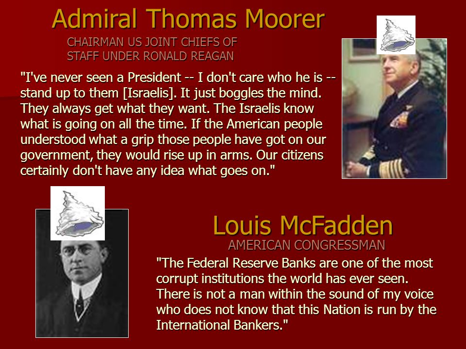 The Federal Reserve Banks are one of the most corrupt institutions the world has ever seen.