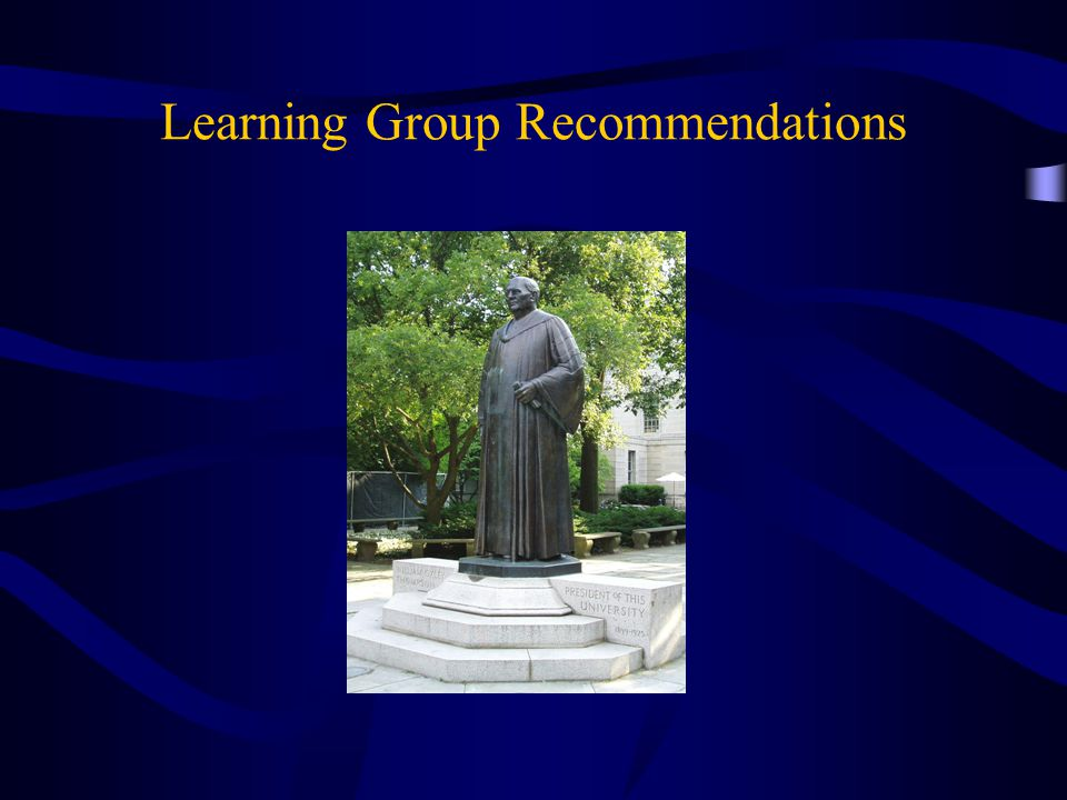 Learning Group Recommendations