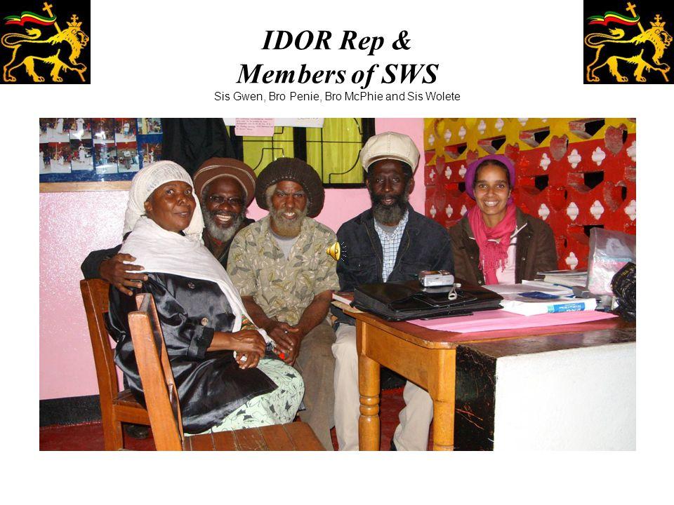 IDOR Rep & Members of SWS Sis Gwen, Bro Penie, Bro McPhie and Sis Wolete