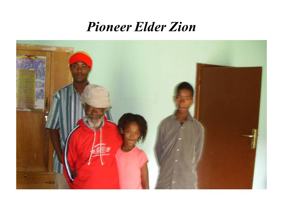 Pioneer Elder Zion