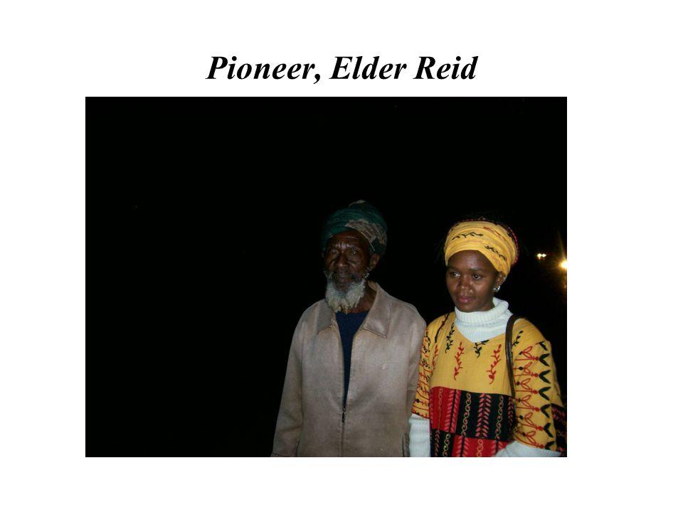 Pioneer, Elder Reid