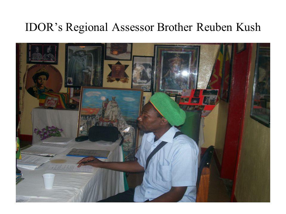 IDOR's Regional Assessor Brother Reuben Kush