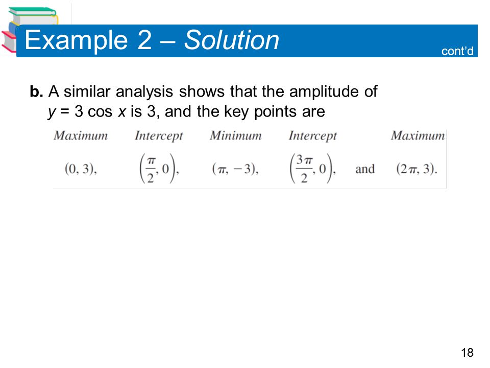 18 Example 2 – Solution b.