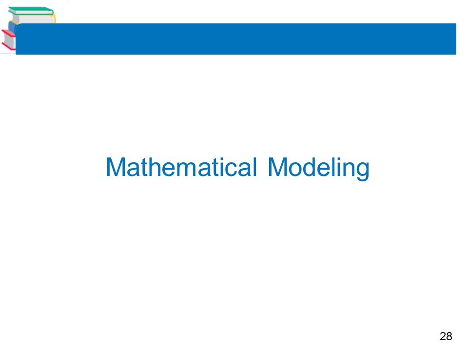 28 Mathematical Modeling