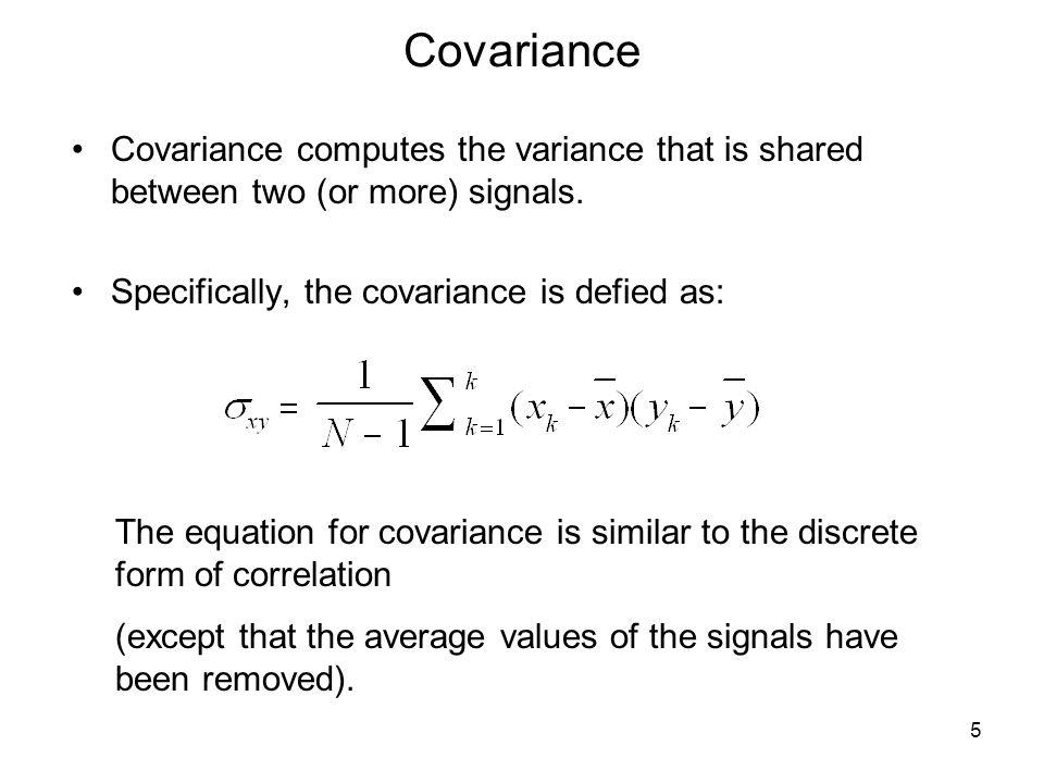 Correlation between different waveforms.There is no correlation between a sine and cosine wave.