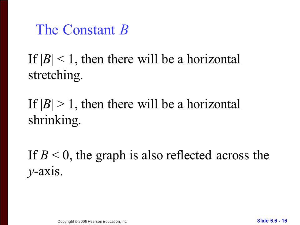 Slide 6.6 - 16 Copyright © 2009 Pearson Education, Inc.