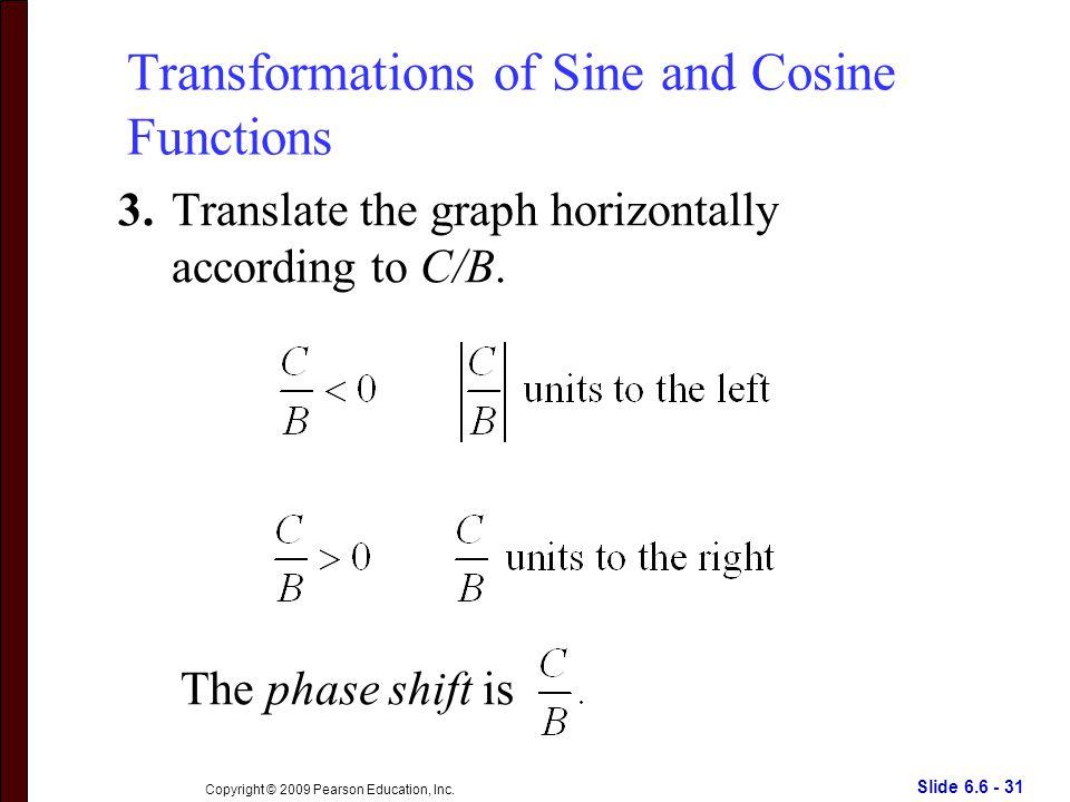 Slide 6.6 - 31 Copyright © 2009 Pearson Education, Inc.