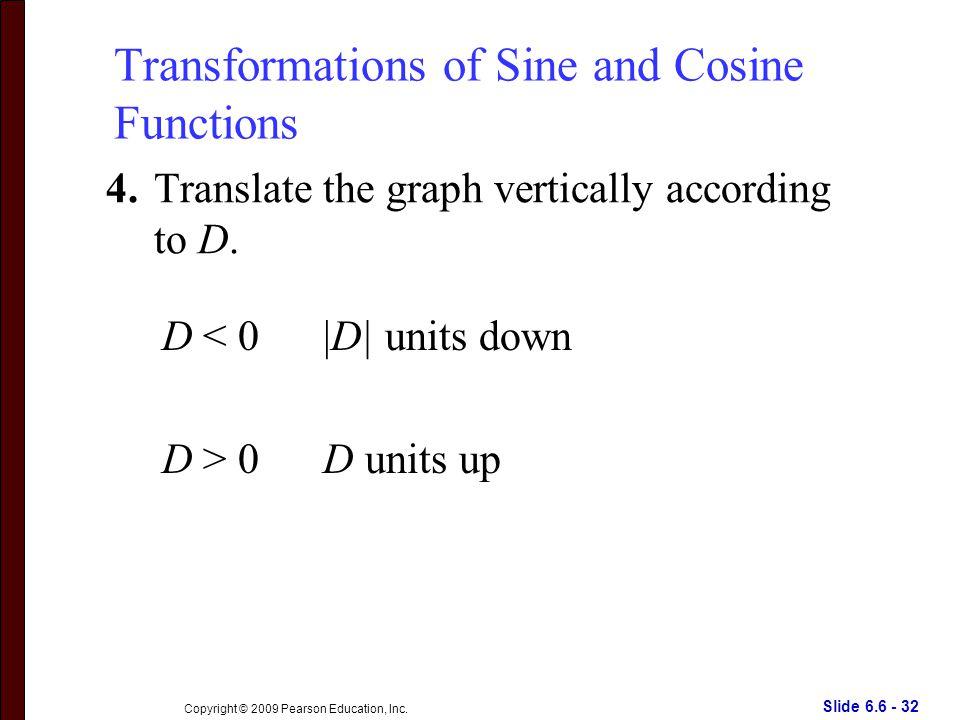 Slide 6.6 - 32 Copyright © 2009 Pearson Education, Inc.