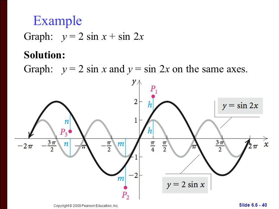 Slide 6.6 - 40 Copyright © 2009 Pearson Education, Inc.