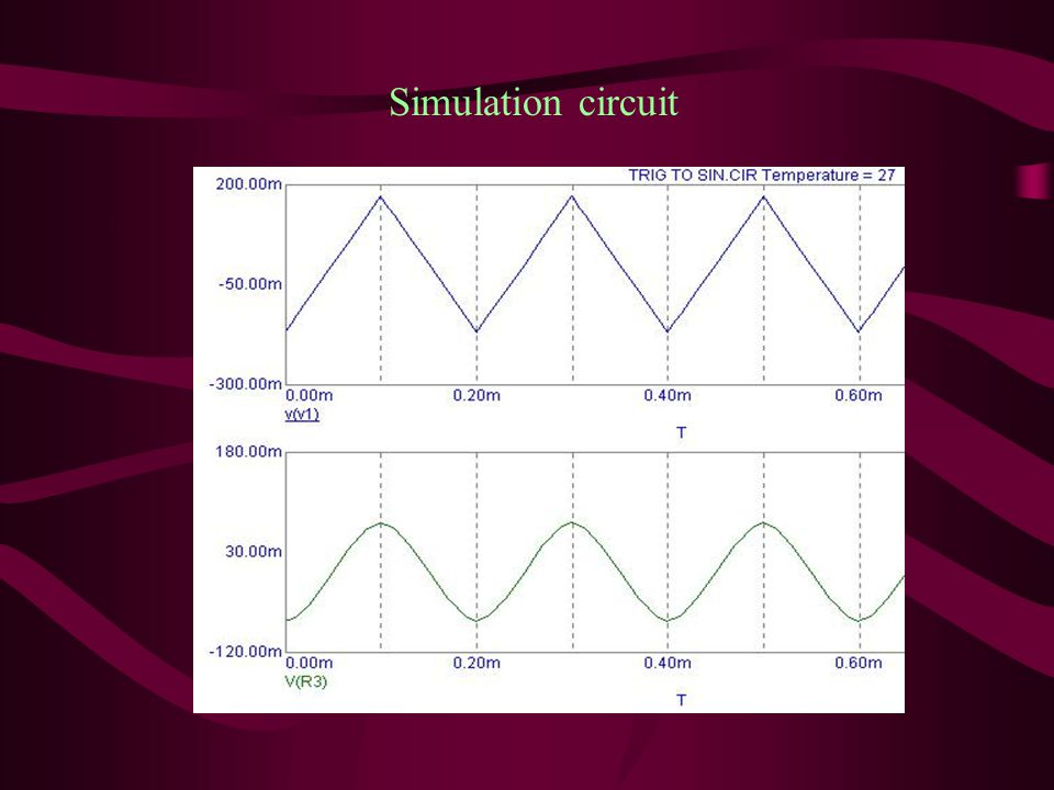 a-Diode Shape technique -The Simulation for this technique is carried out by using computer program (Microcap V6).