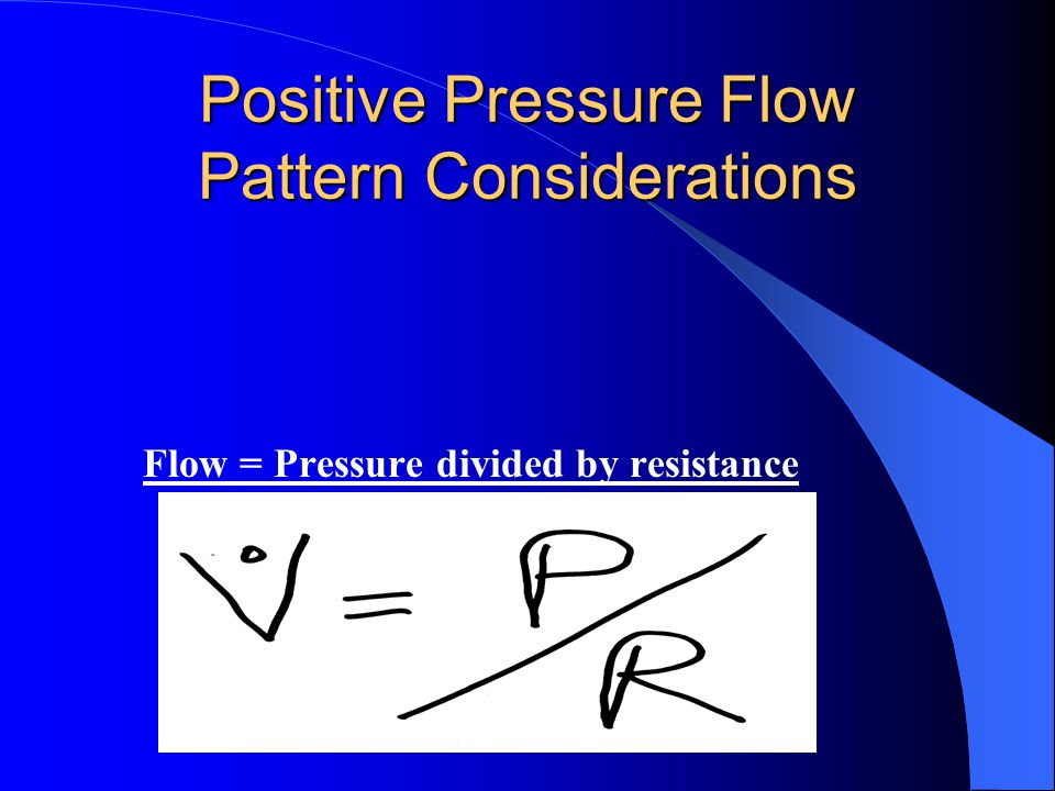 Two Ways to Achieve Continuous Mechanical Ventilation, ie CMV Negative pressure Positive pressure