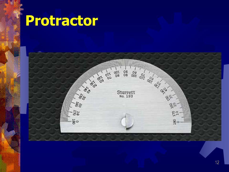 12 Protractor