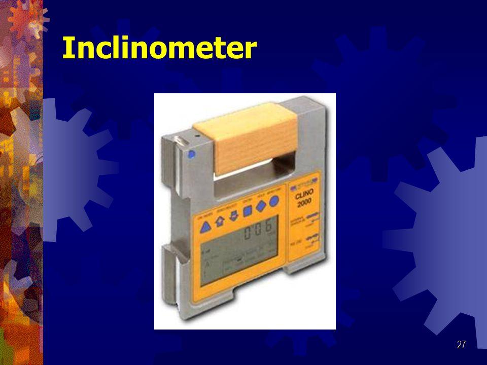 27 Inclinometer