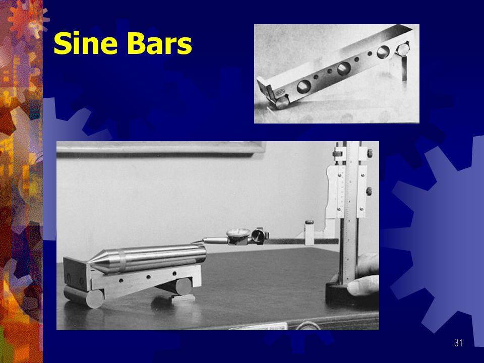 31 Sine Bars