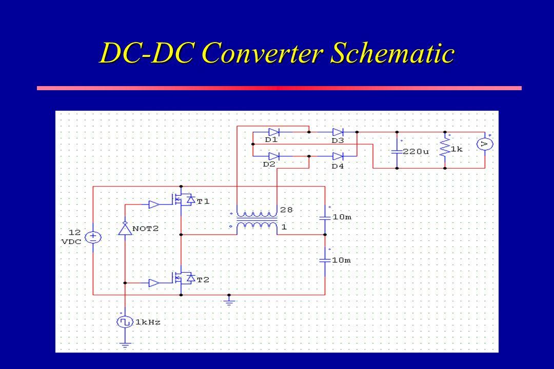 DC-DC Converter Schematic