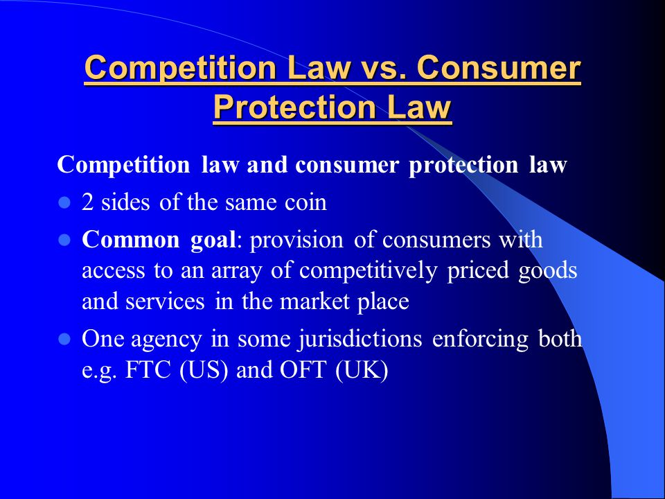 Current state of the Competition Bill A journey into history.