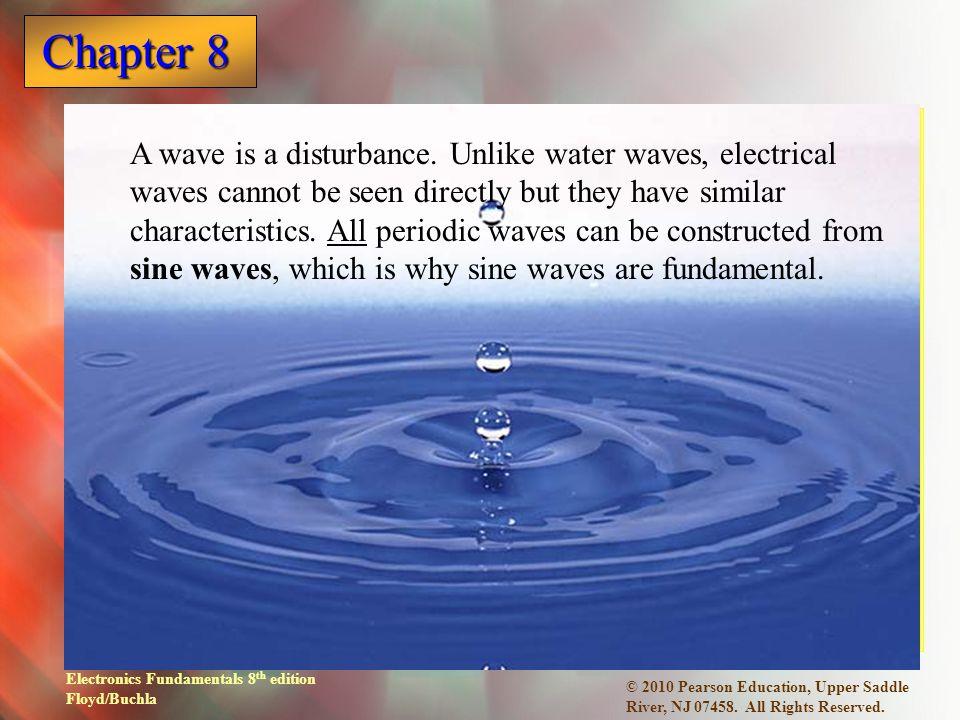 Electronics Fundamentals 8 th edition Floyd/Buchla Chapter 8 © 2010 Pearson Education, Upper Saddle River, NJ 07458.