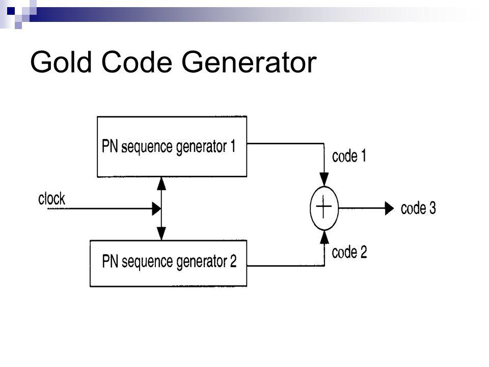 Gold Code Generator