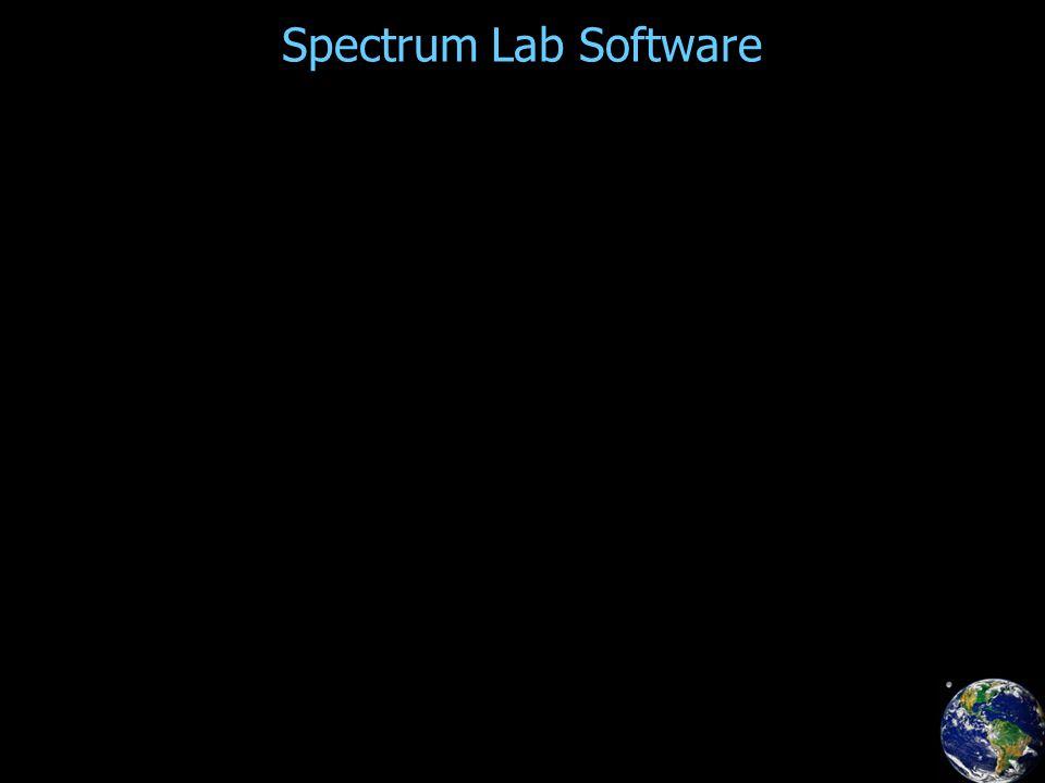 Spectrum Lab Software