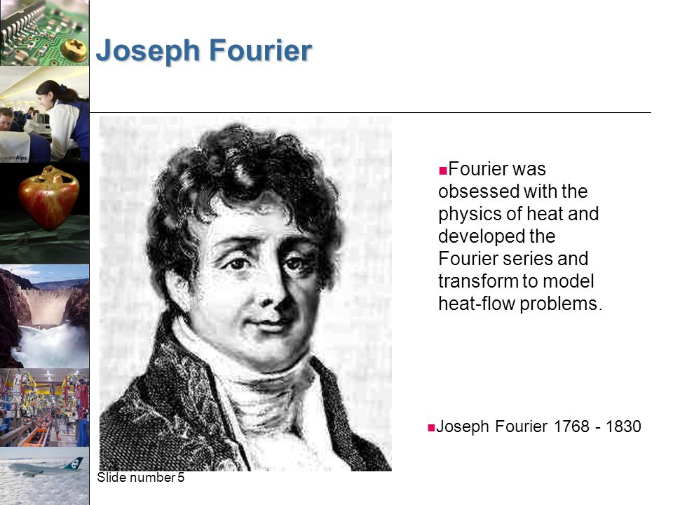 Slide number 26 The Fourier Transform and its Inverse The Fourier Transform and its Inverse: So we can transform to the frequency domain and back.