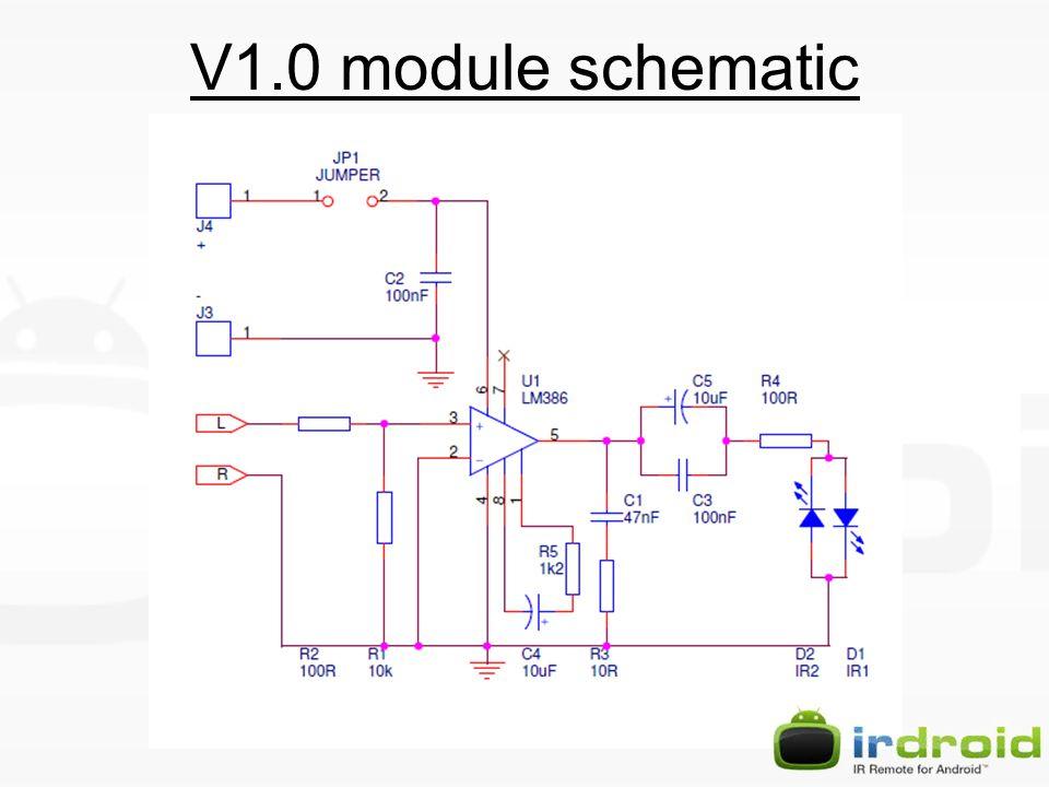 V1.0 module schematic