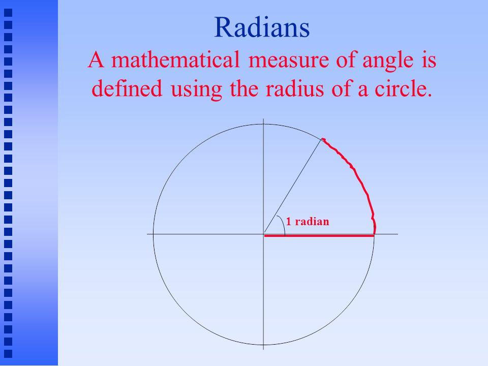 1 radian