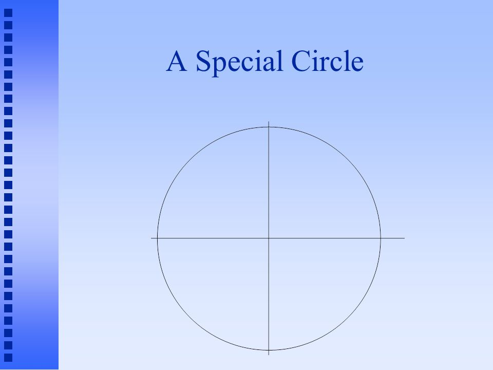 A Special Circle