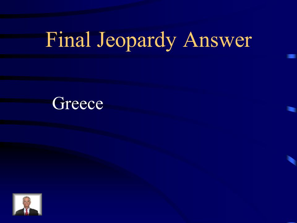 Final Jeopardy Pythagoras is the mathematician who is credited for proving the Pythagorean Theorem.