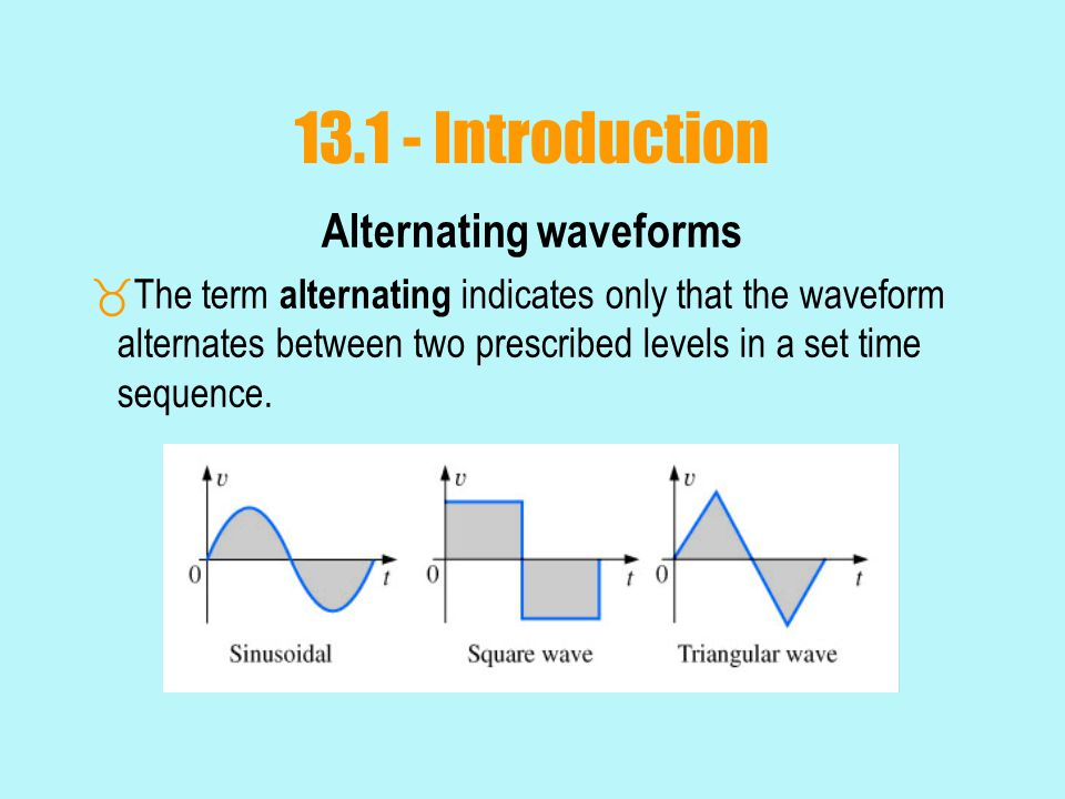 Effective (rms) Values  The formula for power delivered by the ac supply at any time is:  The average power delivered by the ac source is just the first term, since the average value of a cosine wave is zero even though the wave may have twice the frequency of the original input current waveform.