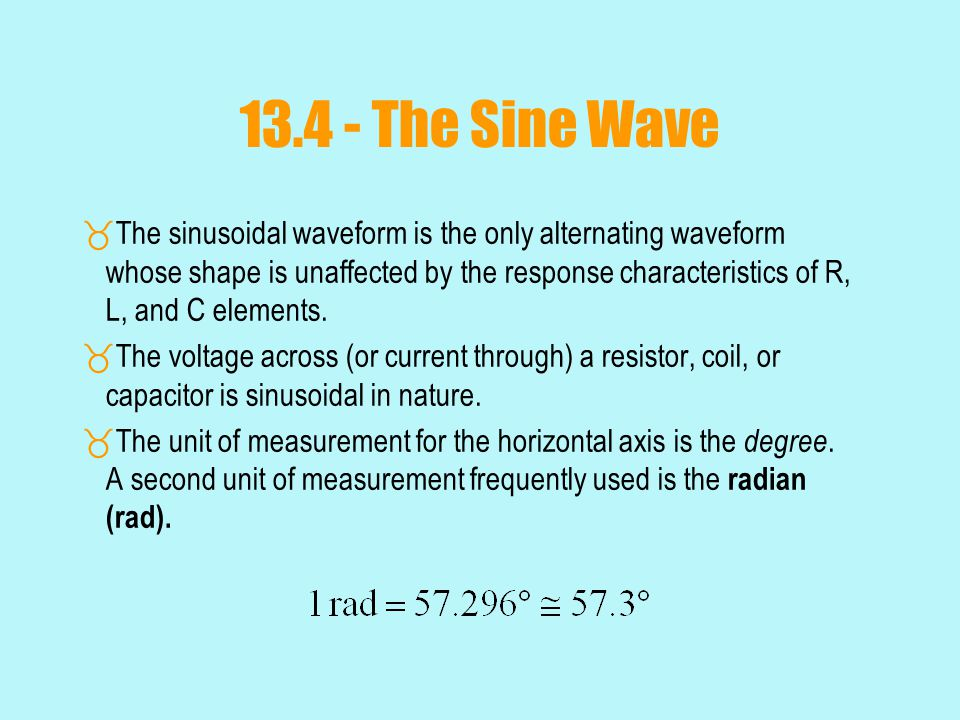 13.7 – Average Value  Understanding the average value using a sand analogy:  The average height of the sand is that height obtained if the distance form one end to the other is maintained while the sand is leveled off.