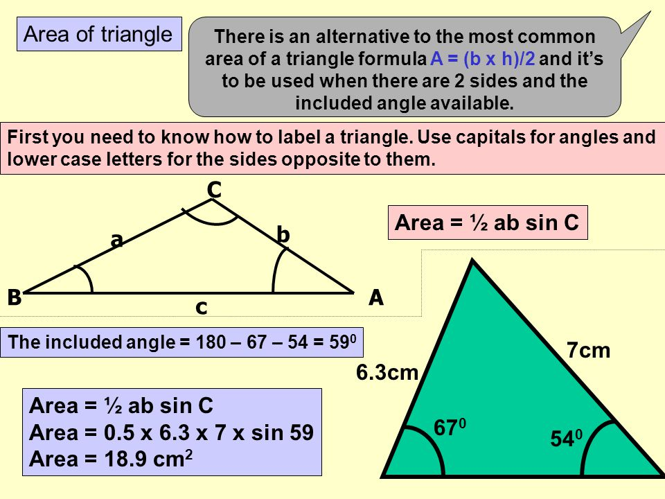 Area What would you do to get the area of each of these shapes? Do them step by step! 3. 6m 4m 6m 1.5m 5. 3m 1. 9m 1.5m 2m 8m 2. 7m 2m 10m 4. 6m 26.5c