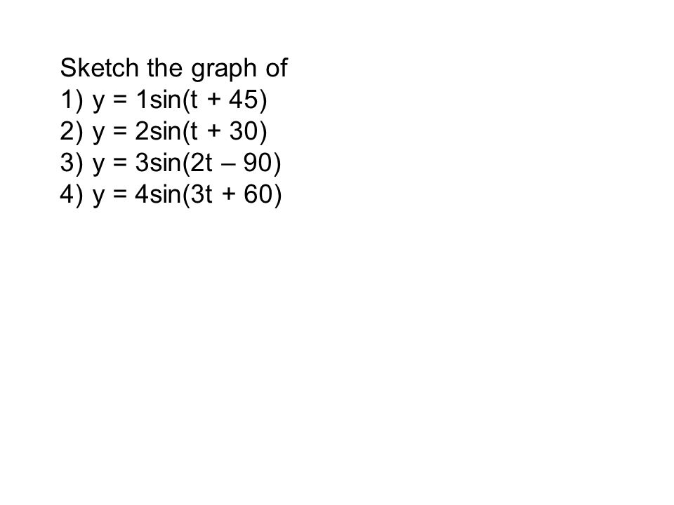 Sin(x–30)–1 3Sin(x+45)–1 3Sin(x+90)+ 0.5 2Sin(x–30)