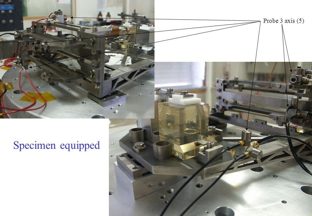 Probe 3 axis (5) Specimen equipped