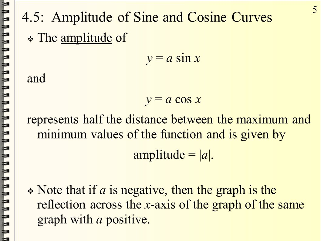 26 4.7: Inverse Cosine Function  The inverse cosine function is denoted y = cos -1 x and denotes the angle whose cosine is x.